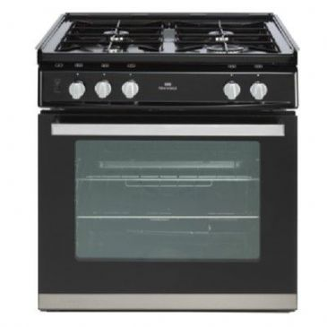 NEW WORLD 600DISC LPG COOKER BLACK